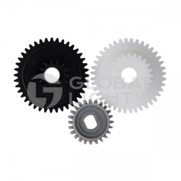 Media cover gears kit made to fit Zebra Printers