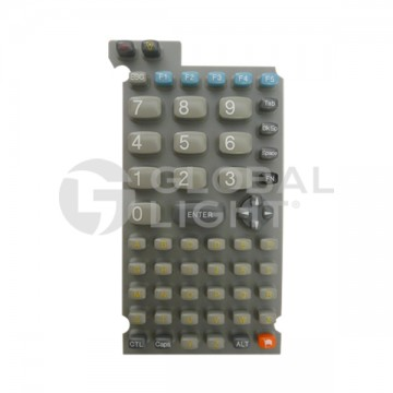Keypad, 54-key, glossy finish, Datalogic 300 Series