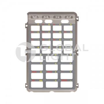 Bezel, 28 key, Telxon, PTC-960