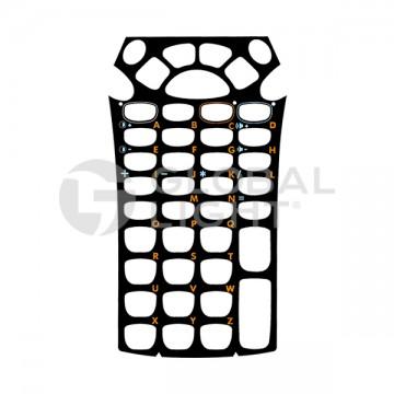 Overlay, 43 key, Zebra Motorola, MC9000