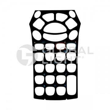 Overlay, 28 key, Zebra Motorola, MC9000