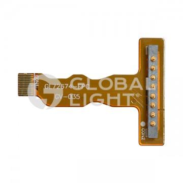 Flexi circuit, 8-PIN, battery connector, Zebra Motorola, WT4090, WT4000, WT41N0