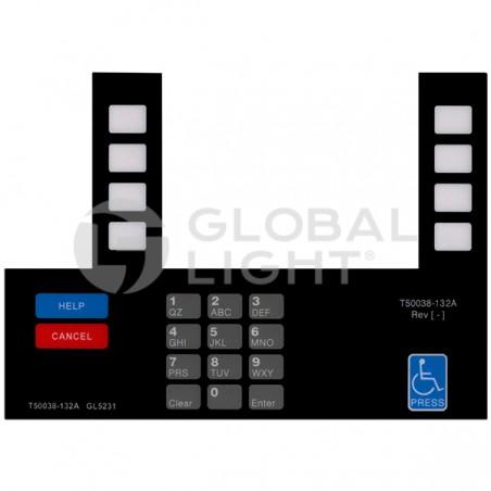 Gilbarco Advantage, Citgo, T50038-132A