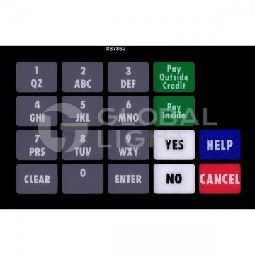 Wayne Ovation, Keypad...