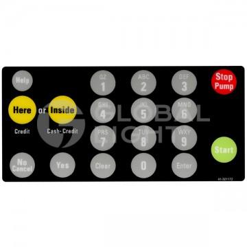 19-key Membrane Keypad...