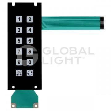 Wayne Vista & Global Century, Membrane Keypad Preset (Tail length: 14 cm) Brazil Version_x000D_, 168820