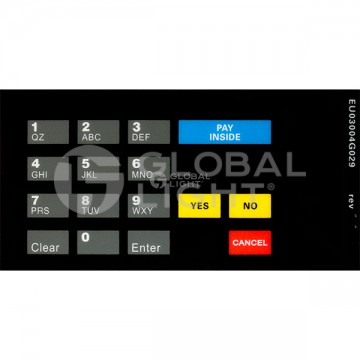 Gilbarco Encore Holiday, CRIND Overlay (works with M0014B002 & M00141B004)_x000D_, EU03004G029