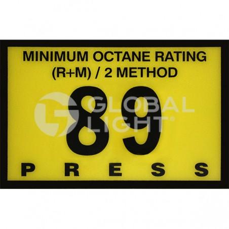 Gilbarco Advantage, 89 Octane Overlay, R60030-G89