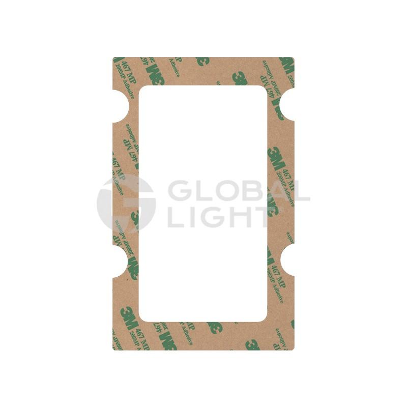 Gilbarco Advantage, Gasket Vertical Card Reader, Ext. Crind (works with GL5527K), N23505 02