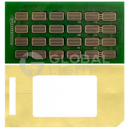 Keypad Customer, Gilbarco Encore, M06975K002