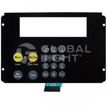 Keypad with Metal Bracker