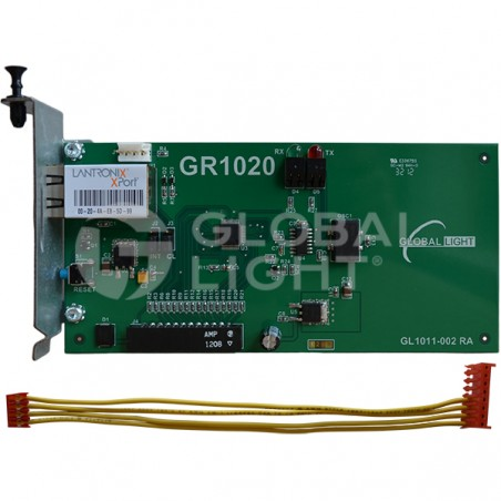 Ethernet communication board with cable connector, made to work with Veeder-Root TLS-350, TCP-IP 330020-425