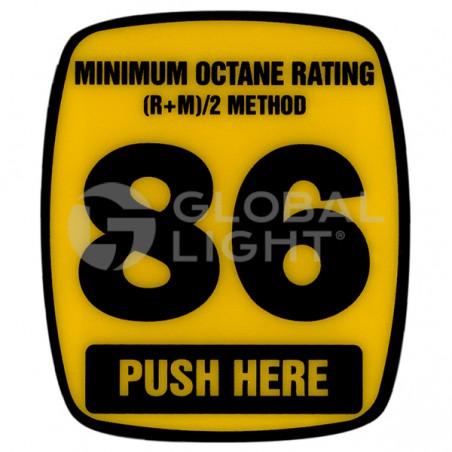 86 Octane Decal, Wayne Ovation, 888460-001-002