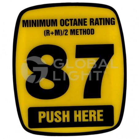 87 Octane Decal, Wayne Ovation, 888460-001-003
