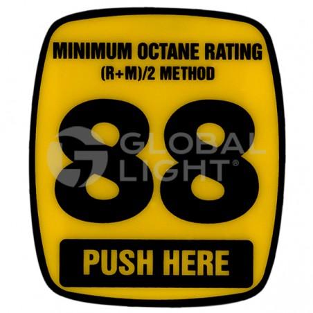 88 Octane Decal, Wayne Ovation, 888460-001-004