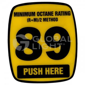 89 Octane Decal, Wayne...
