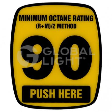 90 Octane Decal, Wayne Ovation, 888460-001-006