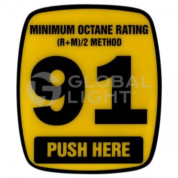 91 Octane Decal, Wayne...