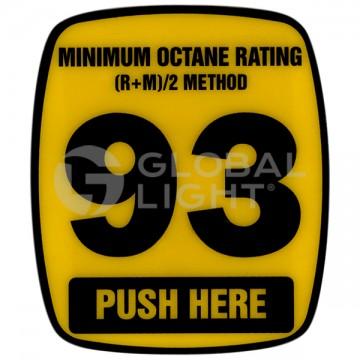 93 Octane Decal, Wayne...