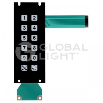 Membrane Switch Keypad,...