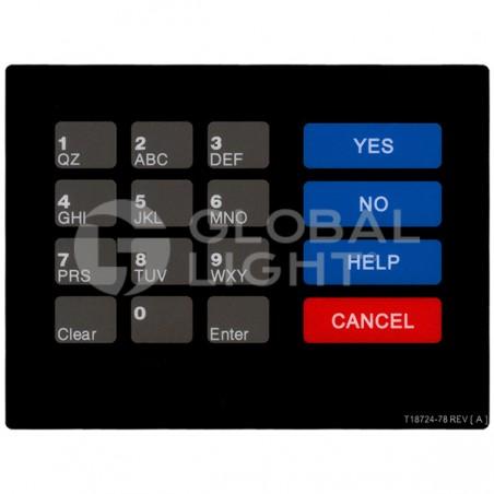 CRIND Keypad Overlay, Gilbarco Advantage, T18724-78A