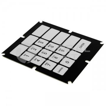 19-key Membrane Keypad,...