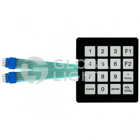 Keypad Programmable, Gilbarco Encore, T17549-G1