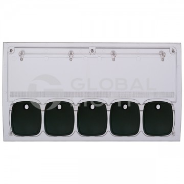 Wayne Ovation, 5-Product Fully Assembled Panel UV Protected, 889952-005-XXX