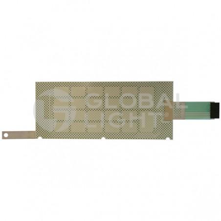 4x6 Membrane Switch, Tokheim Premier &Shclumberger, 320131-3