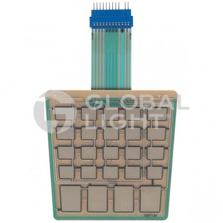 Membrane Switch Keypad, Gilbarco Encore, M07689B002