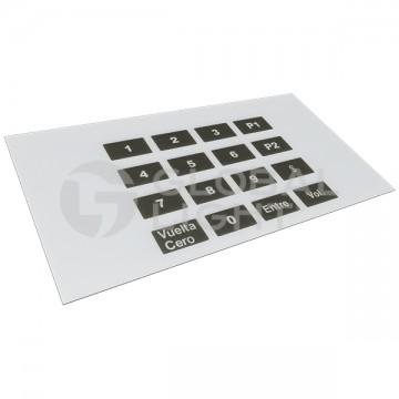 16-Key Membrane Keypad,...
