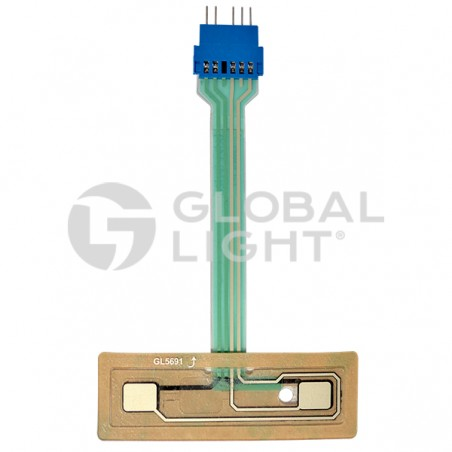 Gilbarco Advantage, EPP Membrana Keypad 2 Positions, Made to Replace: M08418B002