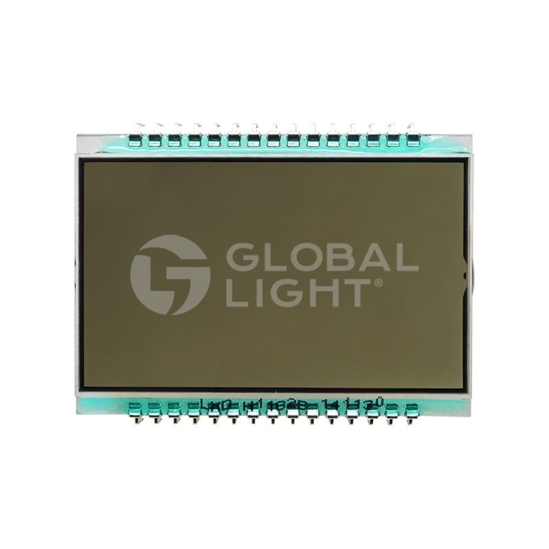 Display LCD, 30 Pins, Wayne Vista