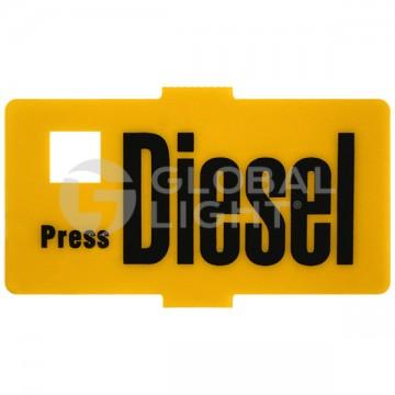"""Wayne Vista, """"Diesel"""" Decal (2x1 in.), 004-201800-071"""