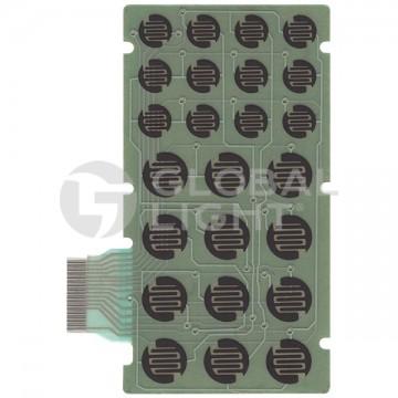 24-key membrane switch made to fit Telxon PTC600