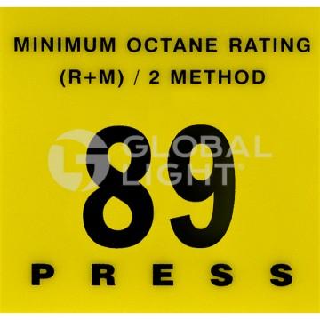 89 Octane Overlay, Gilbarco...