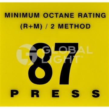 87 Octane Overlay, Gilbarco...