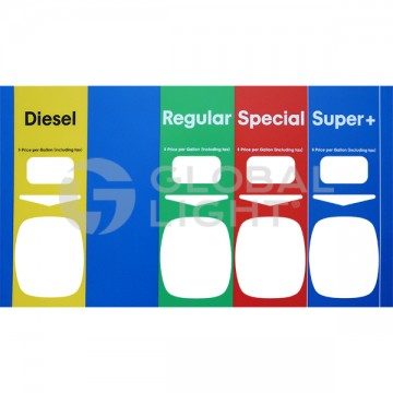 4 Product Mobil® Decal,...